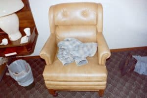 Lyle Stevik - motel room chair