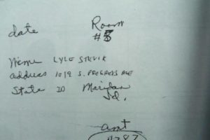 Lyle Stevik motel slip